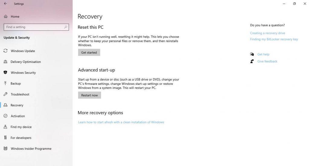 Windows 10 taskbar not working